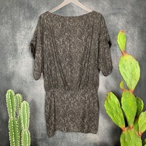 Parker Dresses - 🌵Parker Silk Black Gray Sexy Open Back Mini Dress